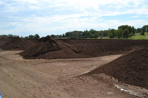 Image of a compost pile