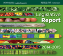 2014-2015 Legislative Report Cover