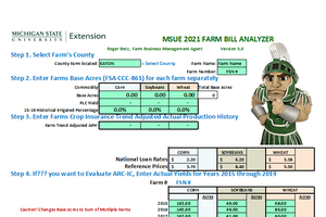 MSU Farm Bill Analyzer 2021