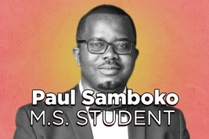 Grad Spotlight: Paul Samboko