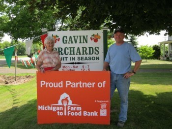 Mike Gavin, of Gavin Orchards. Photo courtesy of Jenelle Jagmin.