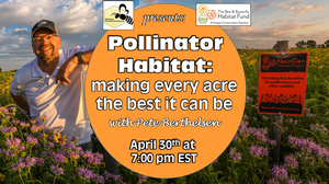 Pollinator habitat: Making every acre count
