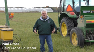 Select a seeding method that gives you the best chance for success when establishing a cover crop
