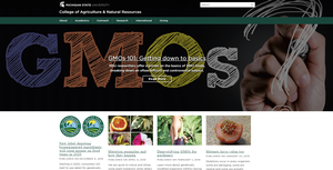 Curious or concerned about GMOs? Visit MSU's GMO website for more information.