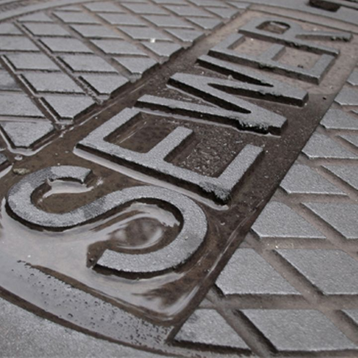 Sewer covers provide a quick point of access to underground infrastructure in legacy cities. Photo courtesy of FreeImages.com.