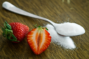 Sugar alcohols are found naturally in plant products, including berries.