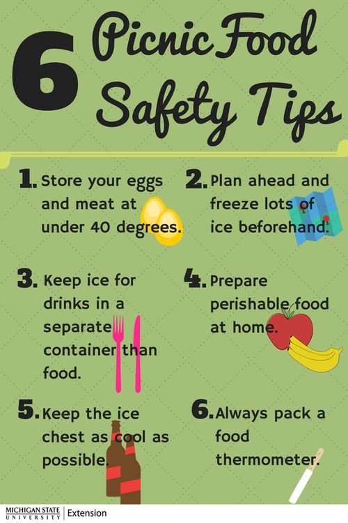 Follow these simple steps to improve your camping experience and prevent food contamination on your trip.