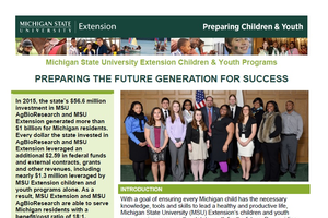 Preparing the Future Generation for Success