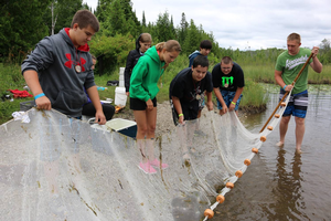 Youth have hands-on science fun and explore careers at 4-H Great Lakes & Natural Resources Camp