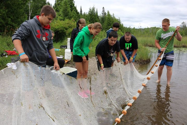 Youth at 4-H Great Lakes and Natural Resources Camp had a fun and education time. | MSU Extension