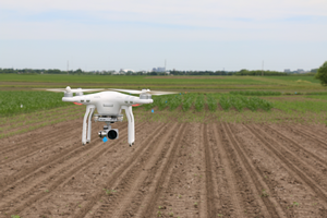 Corn nitrogen management assessment using multispectral drone imagery in Michigan