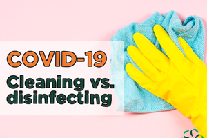 COVID-19 – Cleaning vs. Disinfecting