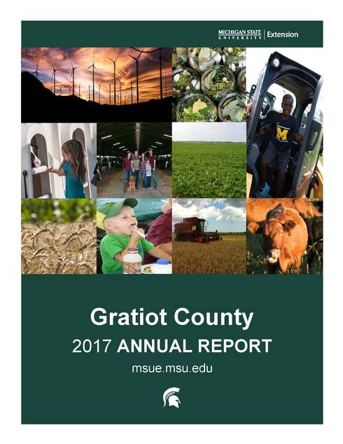 Gratiot County Annual Report Cover
