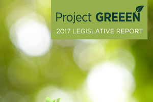 2017 Project GREEEN Legislative Summary Cover