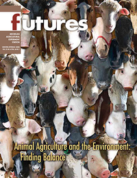 Animal Agriculture and the Environment: Finding Balance Winter/Spring 2008 Cover