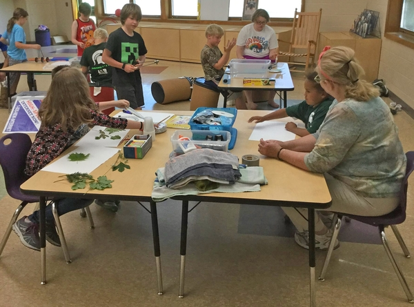 4-H Tech Wizards participants in Muskegon County
