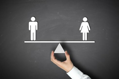Illustration of gender balance
