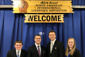 Three Michigan teams compete in final dairy judging contest of 2019 season