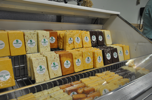 MSU Dairy Store cheese.