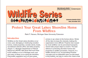 Protect your Great Lakes Shoreline Home from Wildfires (E3203)