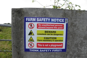 Working safely on the farm