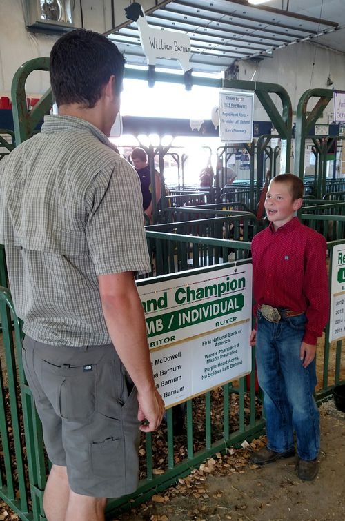 Ingham County 4-H member William Barnum shares his experience with raising lambs.