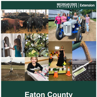 Eaton County Annual Report 2017-18 cover.