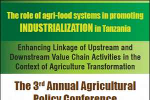 3rd Annual Agricultural Policy Conference, March 1–3, Dar es Salaam