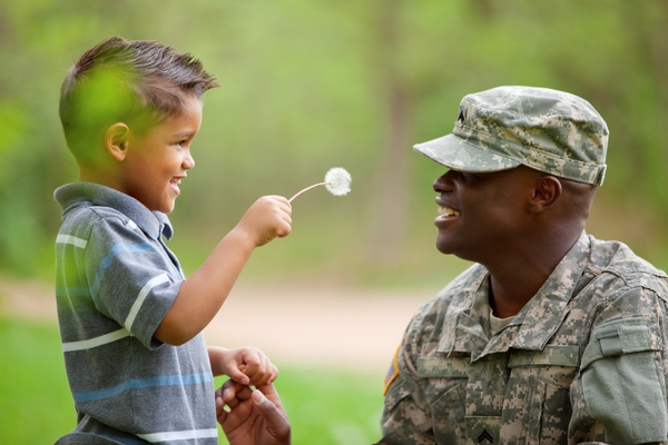 Deployment of a family member is a difficult time for children. Learn how to support them with these tips. | MSU Extension