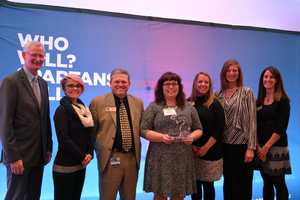 Michigan Department of Education receives the Michigan State University Extension 2018 Key Partner Award