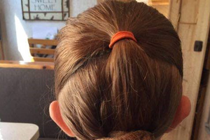 An example of nice, completed bun without a hat. Photo credit: Taylor Fabus | MSU Extension