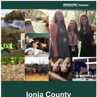 Ionia County Annual Report 2017-18 cover.