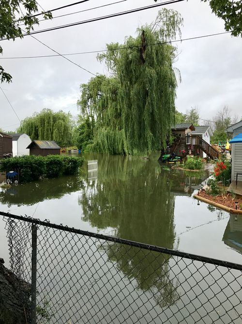 Flooding in June 2017 caused damage across the Saginaw Bay region, and a state of emergency was declared in Bay, Isabella and Midland counties. Photo: Kip Cronk