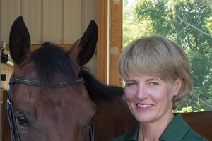 Dr. Stephanie Valberg, Mary Anne McPhail Dressage Chair in Equine Sports Medicine at Michigan State University.