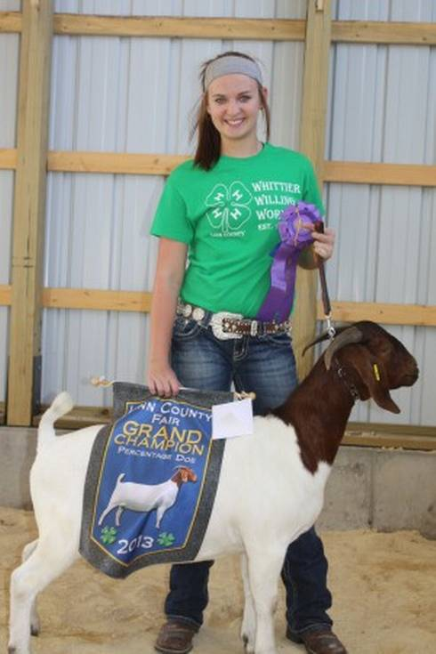 Image of county fair grand champion.