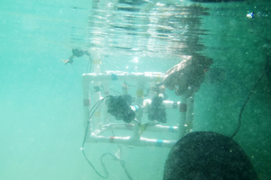 Youth explore underwater ROVs at Great Lakes camp