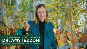 Amy Iezzoni is the nation's only tart cheery breeder and professor in the MSU Department of Horticulture.