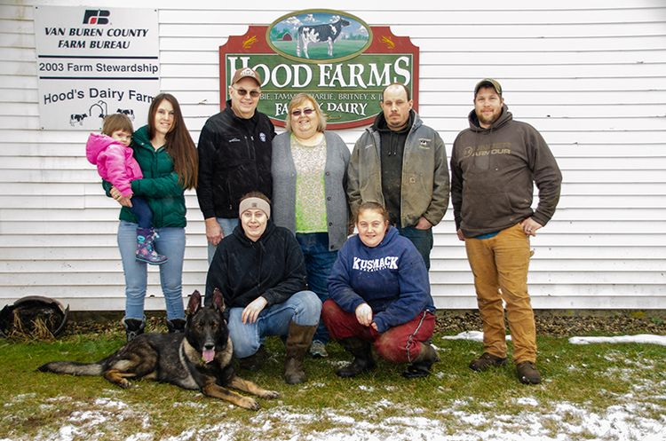 Tim Farmers Christmas Show 2020 Tim Hood named 2020 Dairy Farmer of the Year   Department of