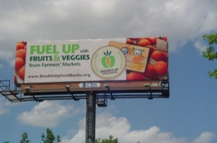 Double Up Food Bucks Billboard