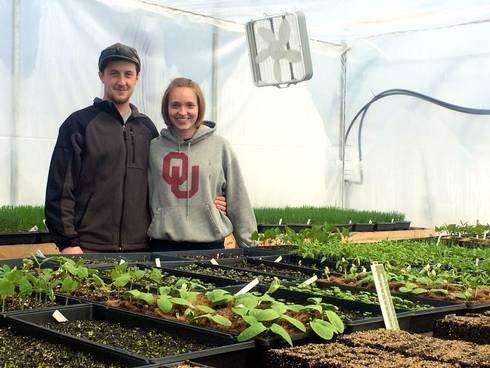 Dakota and Landen of Bean Pole Farm are excited to offer a full-diet CSA to residents of the Upper Peninsula