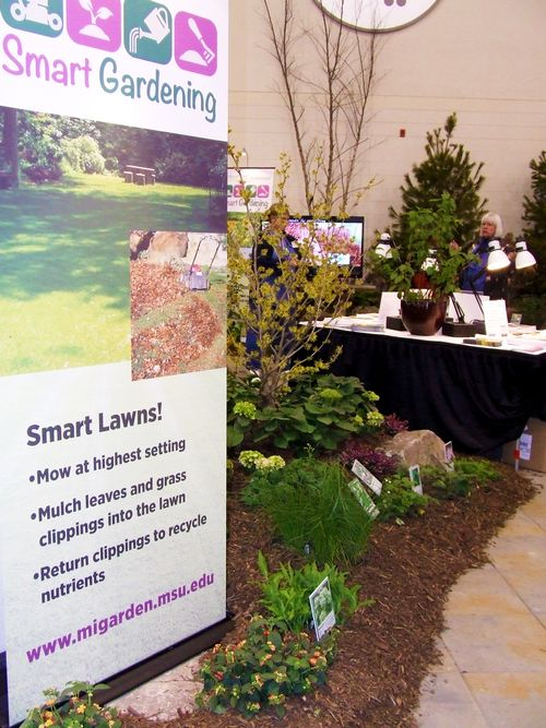 Smart Gardening display at the West Michigan Home and Garden Show.
