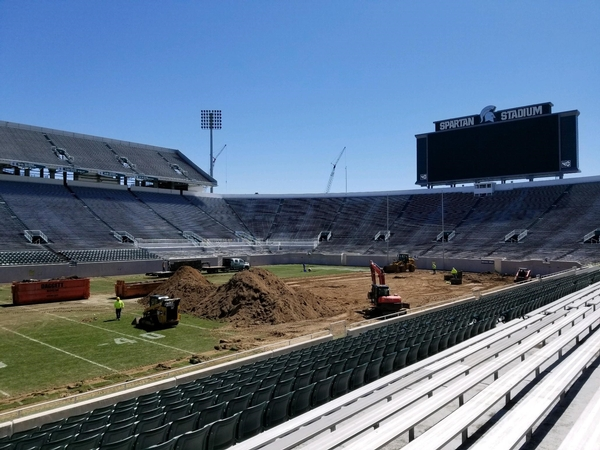 Spartan Stadium getting new turf