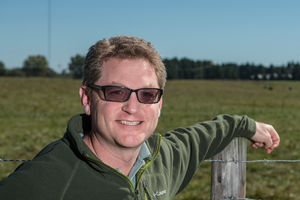MSU AgBioResearch animal scientist Jason Rowntree