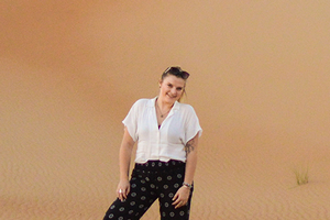 MSU interior design senior Lauren Stoklas on her Clinton Scholarship experience in Dubai