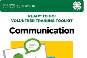 Ready to Go: Volunteer Training Toolkit - Communication (4H1761Unit3)