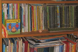 One way to increase your child's access to books is by building your child's library in your home. Photo by jppi at Morguefile.com