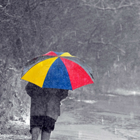 There are many activities you can do with your child on a rainy day. Photo credit: Pixabay