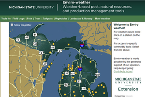 New meteograms now available on MSU Enviroweather