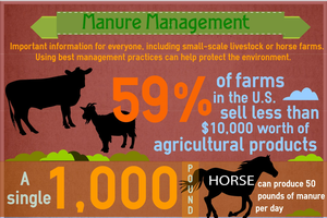 Proper manure management is important for everyone, including small-scale livestock or horse farms