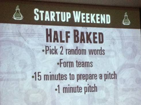 Startup Weekend created opportunities for participants to collaborate during various break-out sessions.